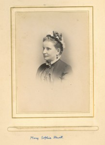 Photo of Mary Sophia Key Mrs Hewitt